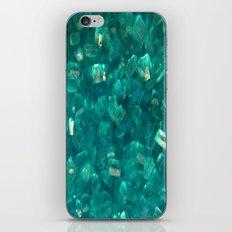 Blue Sugar Crystals iPhone & iPod Skin