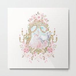 Unicorn Fairy Tale Enchantment Metal Print