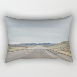 Open Road - Casper, WY Rectangular Pillow
