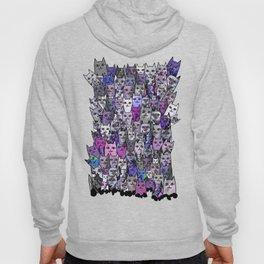Ultraviolet Gemstone Cats Hoody
