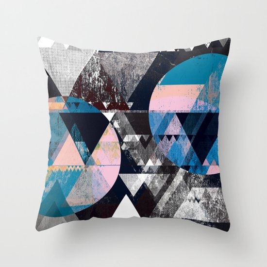 Graphic 4 Z Throw Pillow