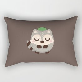 Tanuki Rectangular Pillow