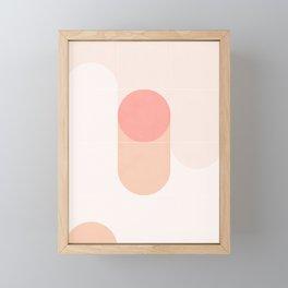 Retro Tiles 08 #society6 #pattern Framed Mini Art Print