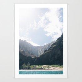 Na Pali Coast II Art Print