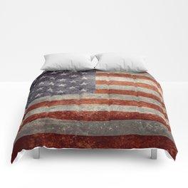 USA Flag Banner - Imagine this Comforters