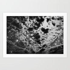 Gray Starlight Art Print