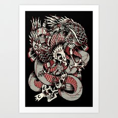 wreckage Art Print