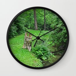 Conscious Calm Wall Clock