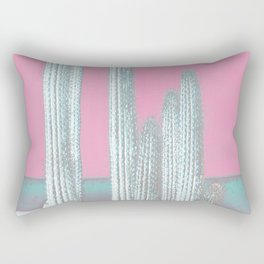 Cactus Pink Rectangular Pillow