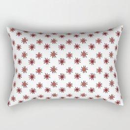 Paracas Flowers with Transparent Background Rectangular Pillow