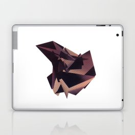 3D purple flying object Laptop & iPad Skin