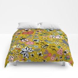 BOHO Indienne (Mustard) Comforters