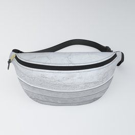 Stone wood off white Fanny Pack