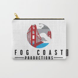 Fog Coast Productions Logo White Carry-All Pouch