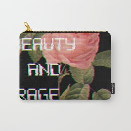 Beauty And Rage Carry-All Pouch