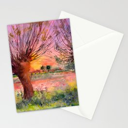 Two Willows Stationery Cards