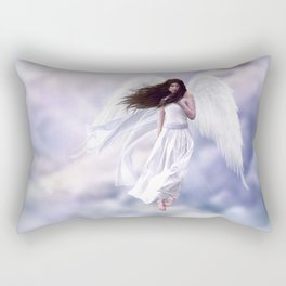 Some Clouds Have Wings Rectangular Pillow