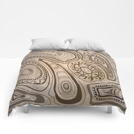 old tribal pattern Comforters