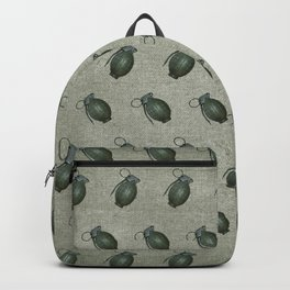 Army Green Hand Grenades Backpack