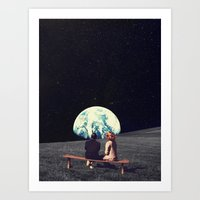 Art Prints featuring We Used To Live There  by Frank Moth