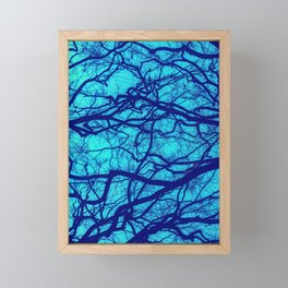 Entwined Branches Framed Mini Art Print