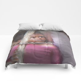 behind the barb Comforters