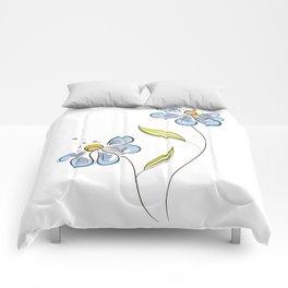 Drunken Flower Comforters