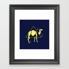 Desert Nights Framed Art Print