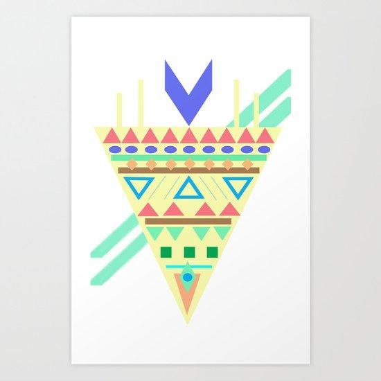 Triangle Affiniti Art Print