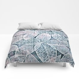 Frosted Leaves Comforters
