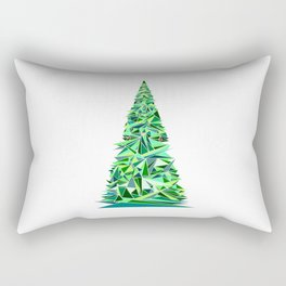 Triange Pine Tree Rectangular Pillow
