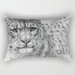 Panthera Uncia G003 Rectangular Pillow