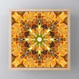 Mandalas from the Depth of Love 27 Framed Mini Art Print
