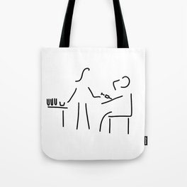 assistant of doctor Tote Bag
