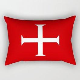 hospitaller knights cross Rectangular Pillow