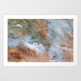 Tumbling River Falls  Art Print