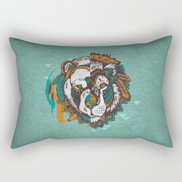 Split Personality Rectangular Pillow