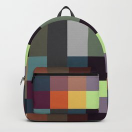 Syrbotae - Colorful Decorative Abstract Art Pattern Backpack