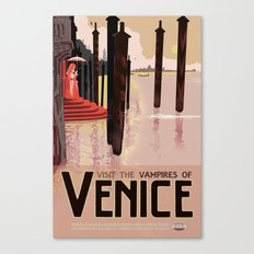 The Vampires of Venice Canvas Print