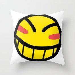 Cowboy Bebop - Hacker Smile Throw Pillow