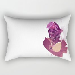 And the Beast Rectangular Pillow