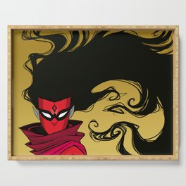 Shadow Weaver Serving Tray
