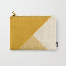Mustard Tones Carry-All Pouch