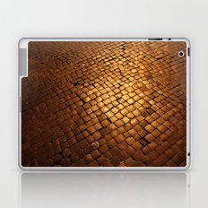 paving stone gold Laptop & iPad Skin