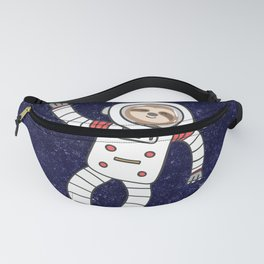 Sloth Spaceman Fanny Pack