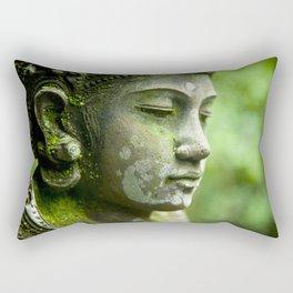 Peaceful Buddha Rectangular Pillow