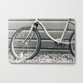 Vintage Bicycle 2 Metal Print