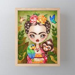 Frida Querida Framed Mini Art Print