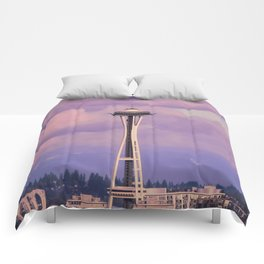Seattle Space_Needle Comforters