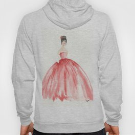 The Red Ball Gown Hoody